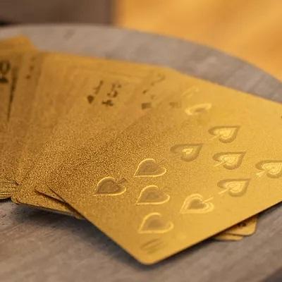 Cartes d'or